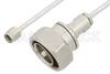 SMA Male to 7/16 DIN Male Cable 48 Inch Length Using PE-SR402FL Coax -- PE36173-48 -Image