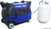 Triple-Fuel Yamaha Inverter 3,500 Watt Boost Generator