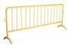 Crowd Control Barrier,D 1 5/8 In,Yellow -- PRAIL-102-HD-Y