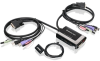 Iogear GCS932UB 2-Port USB DVI-D Cable KVM Switch with Audio -- GCS932UB