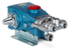 Industrial Duty High Pressure Positive Displacement Triplex Piston Pump -- 1010
