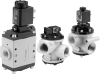 Vacuum Poppet Valve - Solenoid Pilot Actuated -- NG Series