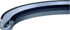 Int. Pressure Lip Seal with Rubber OD -- IML4438-01