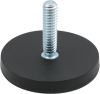 Neo Round Base Magnet - Rubber Coated