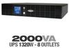 CyberPower OR2200LCDRM2U Rackmount UPS - 2000VA/1320W, AVR, -- OR2200LCDRM2U