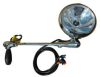 1981 Toyota CORONA W/OFF-SET ANTENNA MOUNT Post mount spotlight - 6 inch - 35W HID - Driver side WITH install kit -- 340A-199