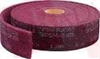 3M 296 ( CLEAN AND FINISH ROLL 30FTX3IN MAROON PRICE/ROLL ) -Image