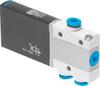 Air solenoid valve -- MHE2-MS1H-3/2O-QS-4 -Image