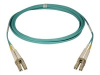 Tripp Lite 1 Meter OM3 10Gb Aqua 50/125 Multimode Fiber Cable LC/LC 3ft -- N820-01M