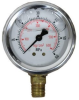Liquid Filled Pressure and Vacuum Gauge - MPa/Kgcm2 -Image