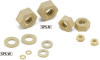 Plastic Screw - Hex Nuts / Washers - PPS -- SPS-W -Image