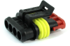 TE Connectivity AMP Superseal 1.5mm 4 Position Plug Housing, 282088-1 -- 38290 -- View Larger Image