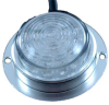 Surface Mount LED Light - Machined Aluminum - 12 & 24 Volts DC - 60mA draw - Courtesy or Down Light -- LEDSM60