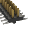Rectangular Connectors - Headers, Male Pins -- FTS-111-02-S-DV-A-ND -Image