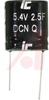 CAPACITOR; SUPER CAP; 2.5F 5.4VDC -10+30% -- 70112412