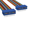 Rectangular Cable Assemblies -- C6PPS-1636M-ND -- View Larger Image