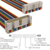 Rectangular Cable Assemblies -- M3URK-2436R-ND -- View Larger Image