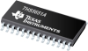 THS5651A 10-Bit, 125MSPS, CommsDAC, Diff. Scalable Current Outputs between 2mA to 20mA -- THS5651AIPWG4
