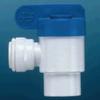 Speedfit Polypropylene Shut-Off Valve Tube to FNPTF Elbow -- 58310
