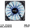 AeroCool Shark Fan - 140mm Blue Edition -- 20123 -- View Larger Image