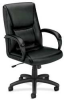 Executive Mid-back Chair,Black -- 14M198