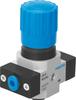 Pressure regulator -- LR-QS6-D-O-7-MICRO -Image
