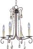 Adriana 4-Light Chandelier -- 22194UR - Image