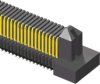 Edge Rate™ Rugged, High Speed Interconnect Strips -- ERM5 Series - Image