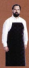 Apron Black Rubberized  LAB APRON,RUBBERIZED,BLACK,24x36 (CHILDS)