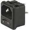 IEC Appliance Inlet C14 -- 1074 Series