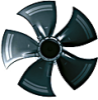 Axial AC Fans -- S3G500-AF48-51 -Image