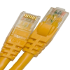 CAT6 550MHZ ETHERNET PATCH CORD YELLOW 7 FT -- 26-266-84 -- View Larger Image