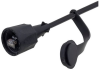 Category 5e RJ45 IP67 Rated Dual Use Outdoor Cable, Black, 3m -- T5A00019-3M -- View Larger Image
