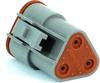 Amphenol AT06-3S 3-Way AT Connector Plug, DT06-3S Compatible -- 38172 -Image