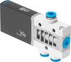 Air solenoid valve -- MHE3-MS1H-3/2O-QS-6 -Image