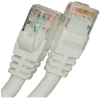 CAT5E 350MHZ ETHERNET PATCH CORD WHITE 1 FT SB -- 26-252-12 -- View Larger Image