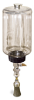 "(Formerly B1745-7X07), Manual Chain Lubricator, 1/2 gal Polycarbonate Reservoir, 1"" Round Brush Stainless Steel -- B1745-064B1SR3W -- View Larger Image"