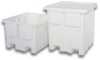 Plastic Container; Fixed Wall -- P-341