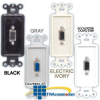 Hubbell Advantage Outlet Frames, Loaded -- ISFD15 - Image