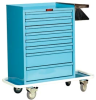 Cast Cart Painted Eight Drawer Standard Package 6030 -- 6030