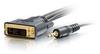 10ft Pro Series DVI-D™ + 3.5mm CL2 M/M Single Link Digital Video Cable -- 2102-41241-010 - Image