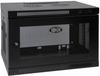 SmartRack 9U Low-Profile Switch-Depth Wall-Mount Rack Enclosure Cabinet -- SRW9U