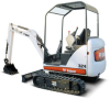 Conventional Tail Swing Compact Excavator -- 324 - Image