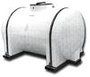 Norwesco 725 Gallon Round Horizontal Bulk Storage Tank LC -- TN725XLC
