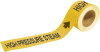 Brady Pipe Markers-To-Go B-736 Yellow Plastic Self-Adhesive Pipe Marker - 1 in Height - 8 in Length - Printed Msg = HIGH PRESSURE STEAM - 20439 -- 754473-20439