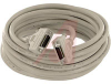 Cable Assy; 10 m; 28 AWG; Stranded; NonBooted; Parchment/Beige; UL, cUL Listed -- 70114062