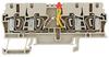 Feed Through with Diode Circuit Terminal Blocks -- ZDK 4-2/D reverse
