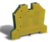Grounding Terminal Block: 22-8 AWG, green/yellow, 10/pk -- DN-G8-10