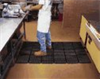 Wearwell Modular Worksafe Antifatigue Mats, Grease-proof Mat, 3'x3' -- EW-81853-30
