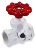 PVC Compression Stop & Waste Valves -- 16768